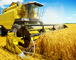 Foto van Agriculturele machine